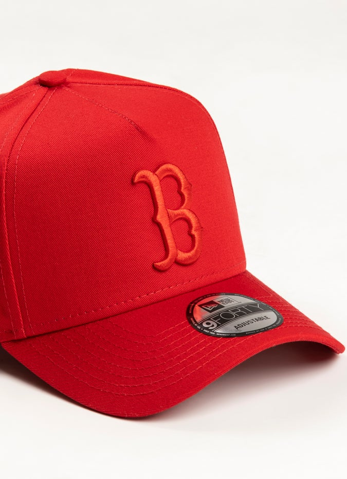 New Era 940 MLB Boston Red Sox A Frame Snapback Cap