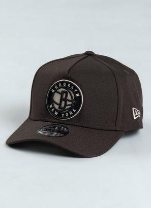 New Era 940 NBA Brooklyn Nets A Frame Snapback Cap