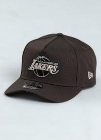 New Era 940 NBA Los Angeles Lakers A Frame Snapback Cap