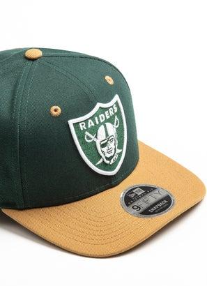 New Era 950 NFL Las Vegas Raiders Pre Curve Fitted Cap
