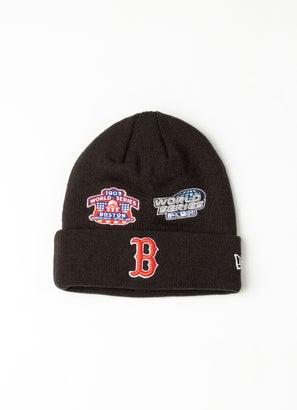 New Era MLB Boston Red Sox All Over Champs Beanie