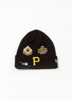 New Era MLB Pittsburgh Pirates All Over Champs Beanie