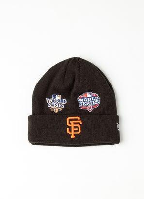 New Era MLB San Francisco Giants All Over Champs Beanie