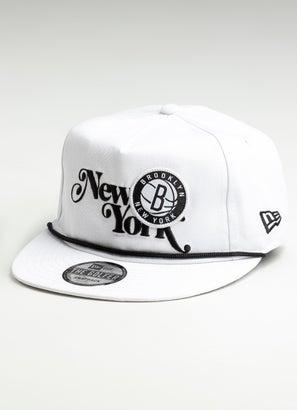 New Era NBA Brooklyn Nets The Golfer Souvenir Cap