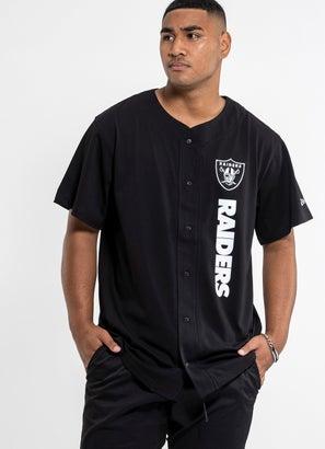 New Era NFL Las Vegas Raiders Button Tee