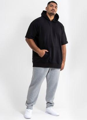 New Era Oversized Short Sleeve Hoodie - Big & Tall