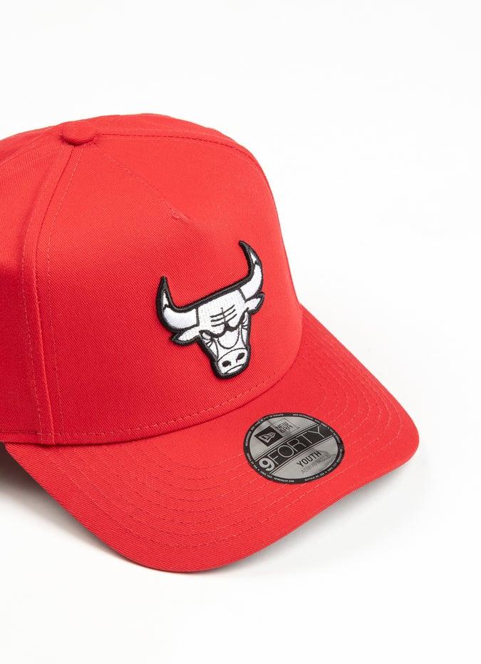 New Era Youth 940 NBA Chicago Bulls A Frame Snapback Cap