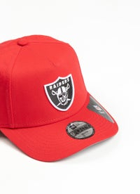 New Era Youth 940 NFL Las Vegas Raiders A Frame Snapback Cap
