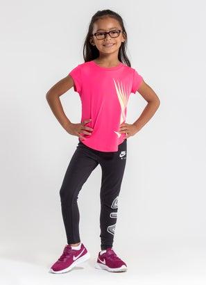 Nike 7 Point Swoosh Tee - Kids