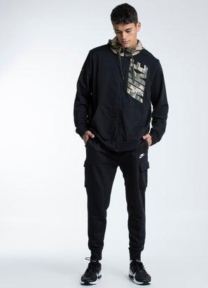 Nike Camo Zip Hoodie