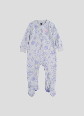 Nike Cotton Footed Coveralls