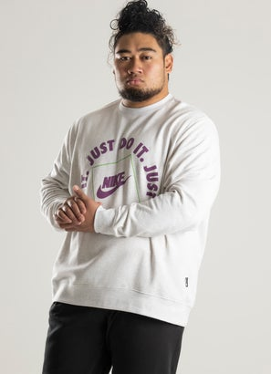 """Nike """"Just Do It"""" Crew - Plus Size"""