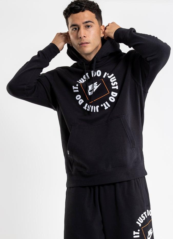 "Nike ""Just Do It"" Fleece Hoodie"