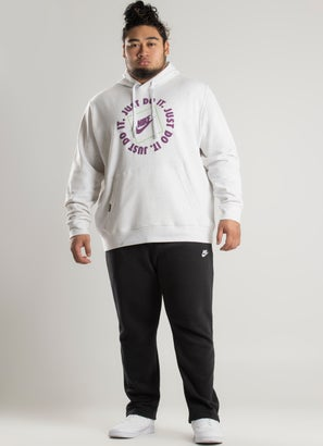 """Nike """"Just Do It"""" Hoodie - Plus Size"""