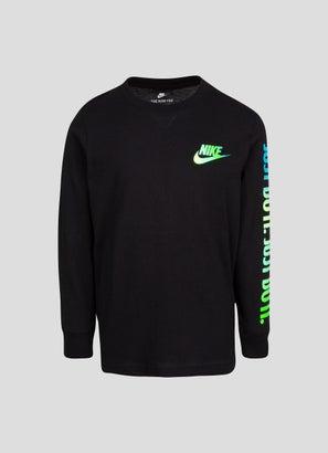 Nike Long Sleeve Graphic T-Shirt - Kids