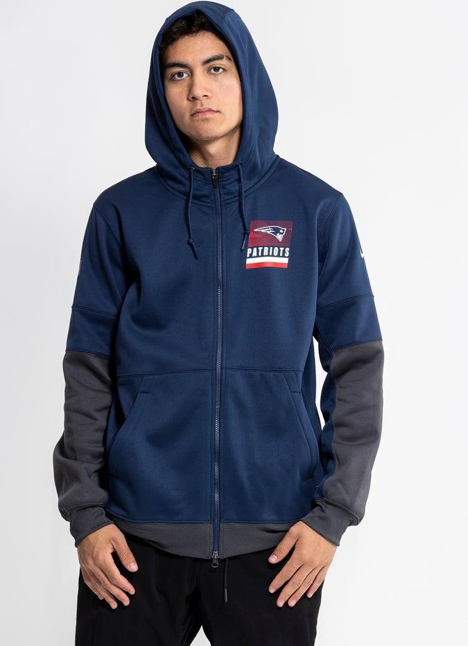 Nike NFL New England Patriots Lock Up Full Zip Hoodie