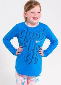 Nike Oversized JDI Script Longsleeve Tee