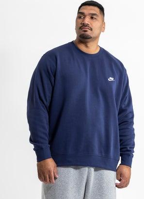 Nike Sportswear Club Fleece Crew - Plus Size