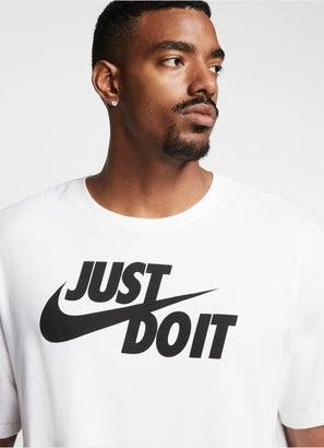 """Nike Sportswear """"Just Do It"""" Tee - Plus Size"""