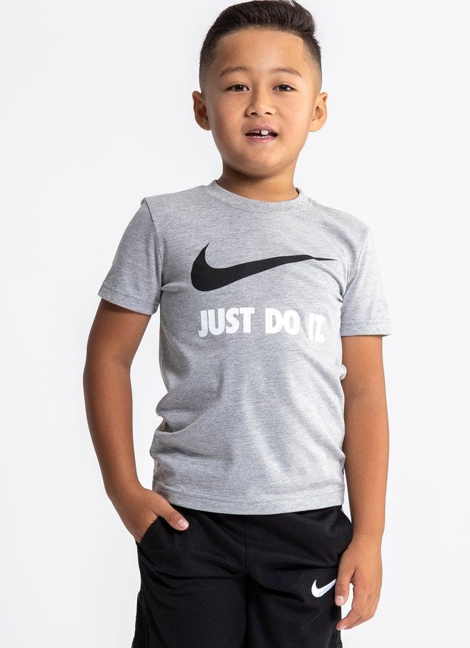 "Nike Swoosh ""Just Do It"" Tee - Kids"