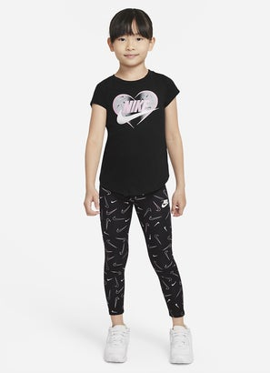 Nike Swooshfetti Leggings - Kids