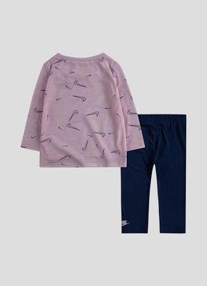 Nike Swooshfetti Leggings Set - Toddlers