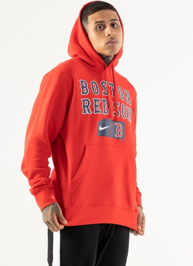 Nike x MLB Boston Red Sox Club Hoodie