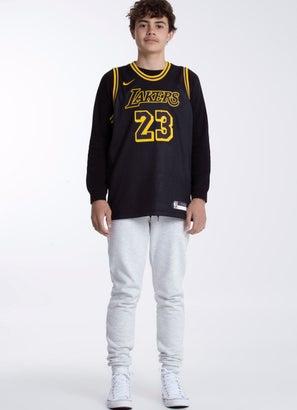 "Nike X NBA Los Angeles Lakers ""James"" Swingman Jersey - Youth"