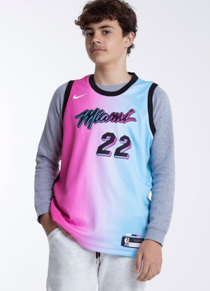 """Nike X NBA Miami Heat """"Butler"""" Swingman Jersey"""