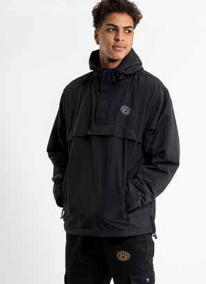 Outlaw Collective Blacked Out Pullover Jacket