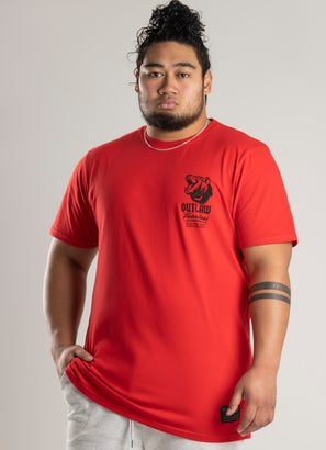 Outlaw Collective Grizzly Tee - Big and Tall