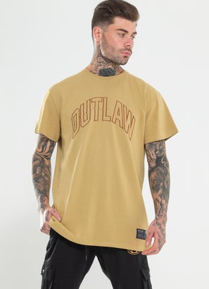 Outlaw Collective Oversized Tonal Tee