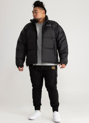 Outlaw Collective Puffer Down Jacket - Big and Tall