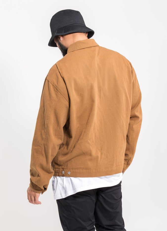 Outlaw Collective Tan Jacket