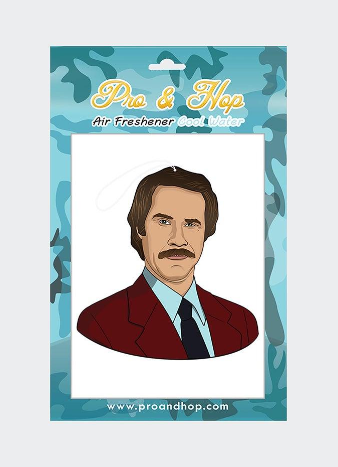Pro & Hop Ron Burgundy Air Freshener