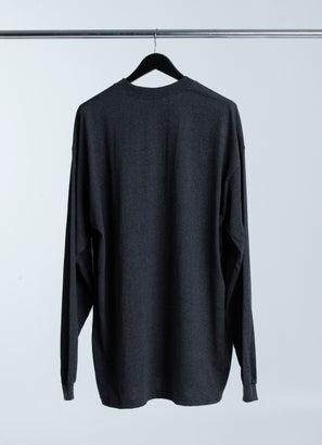 PROCLUB Heavy Weight Charcoal Long Sleeve T-Shirt - Big & Tall