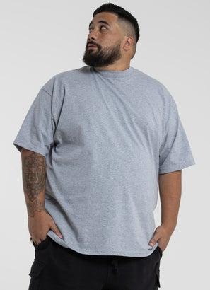 PROCLUB Heavy Weight Grey T-Shirt - Big & Tall