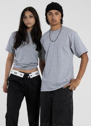 PROCLUB Heavy Weight Grey T-Shirt