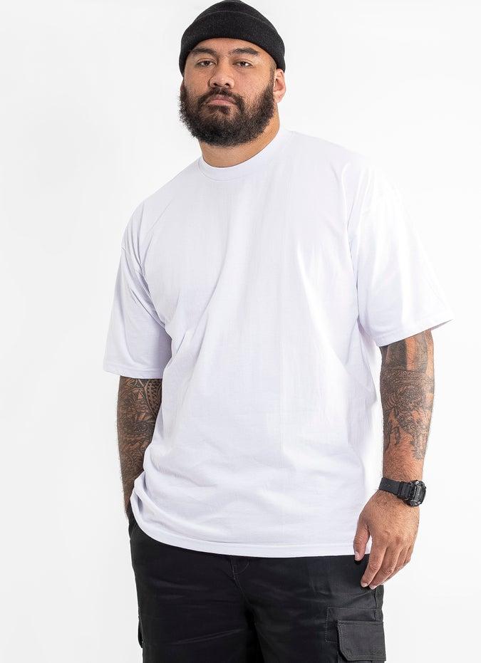 PROCLUB Heavy Weight White T-Shirt - Big & Tall