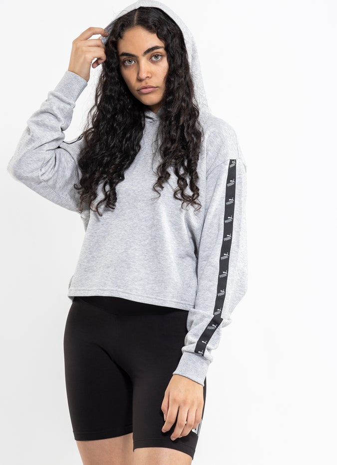 Puma Amplified Cropped Hoodie - Womens