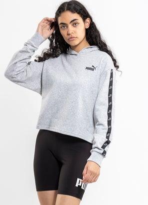 Puma Amplified Cropped Hoodie - Womens