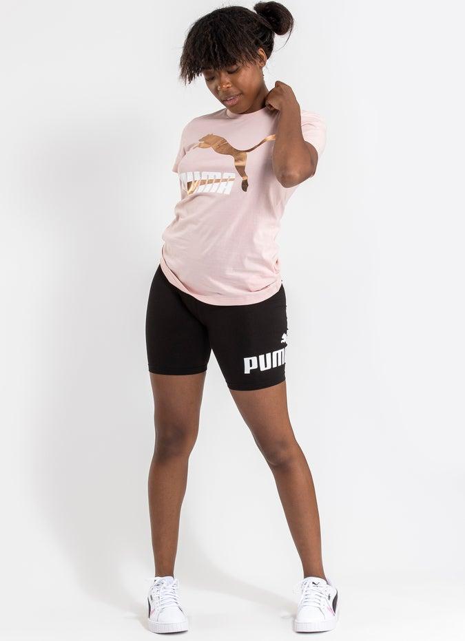 Puma Classics Logo Tee - Womens