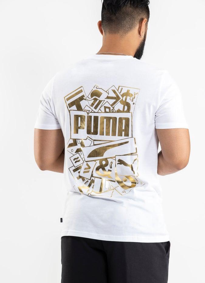Puma Gold Foil Tee
