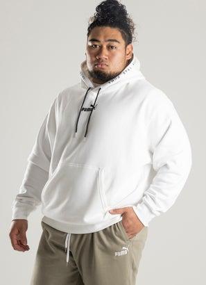 Puma Heavy Weight Fleece Hoodie - Plus Size