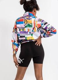 Puma International Woven Track Jacket - Womens