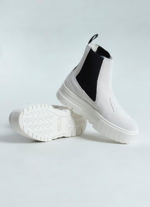 Puma Mayze Chelsea Suede Shoes - Womens