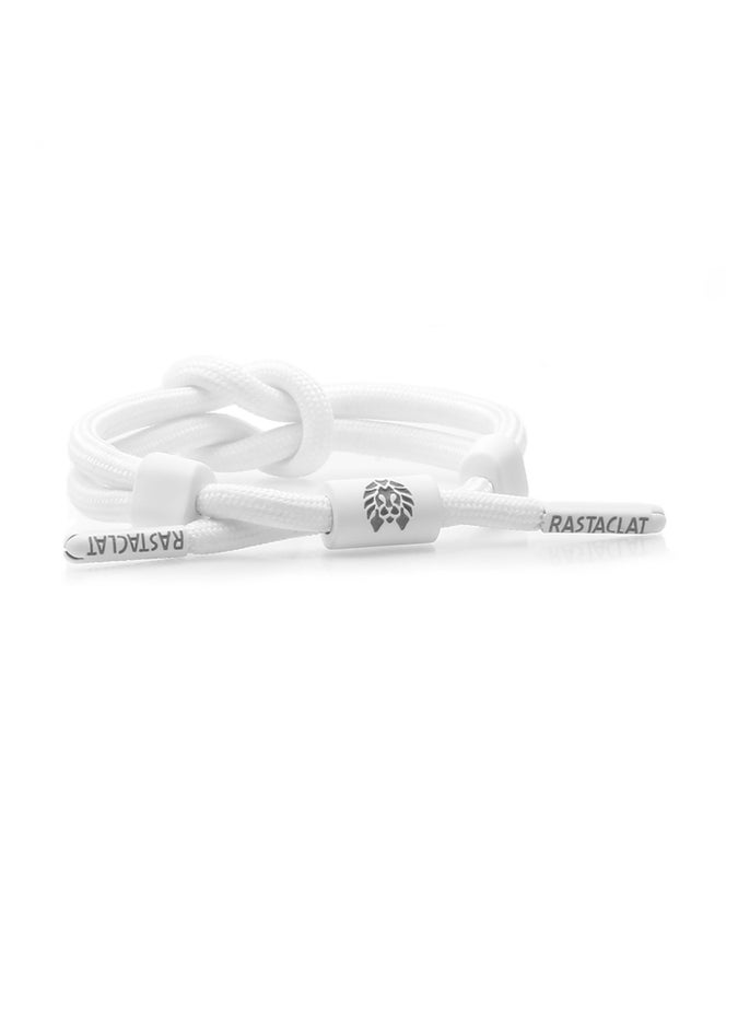 """Rastaclat """"Chalk"""" Knotted Bracelet"""