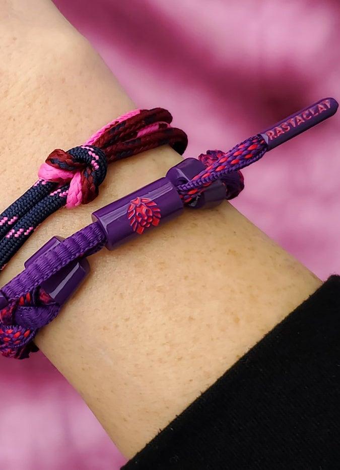 "Rastaclat ""GriGri"" Braided Bracelet - Womens"