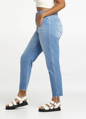 Riders Hi Mom Jeans - Curve