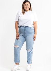 Riders Hi Mom Jeans - Plus & Curve